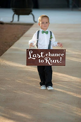 wedding signs for flower girls amp ring bearers to carry a