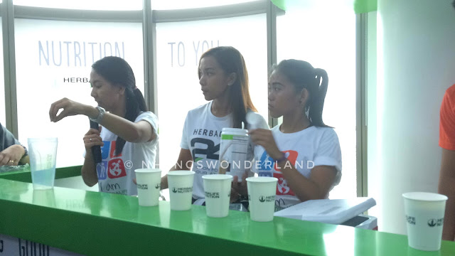 live demo on how to prepare Herbalife F1 Shake