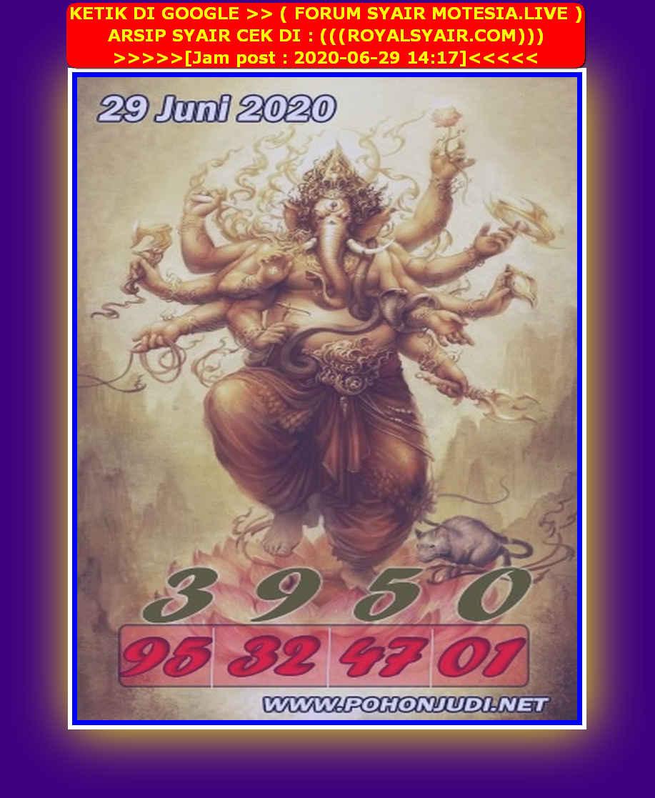 Kode syair Hongkong Senin 29 Juni 2020 152