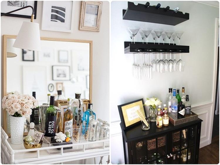 Decoraç u00e3o Bar em casa Yanna Karim -> Decoração De Home Bar