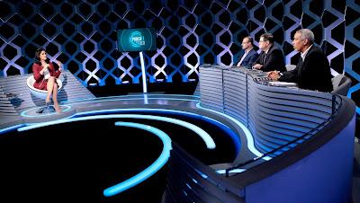 Débora, Renato, Edison, Lenin (Crédito: Lourival Ribeiro/SBT)