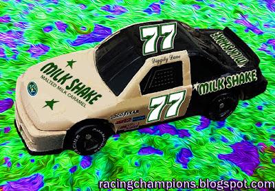 Diggity Dave #77 Milkshake Candy Bar Racing Champions 1/64 NASCAR diecast blog discontinued Buttermilkjug
