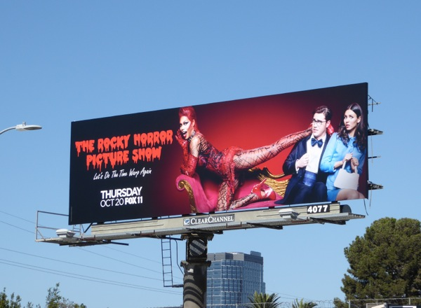Rocky Horror Picture Show TV remake billboard