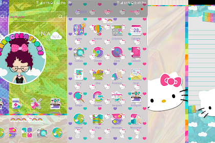 Hello Kitty Launcher Wallpaper