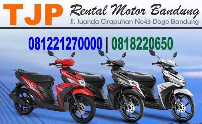 Sewa Rental motor dekat Jl. Margacinta