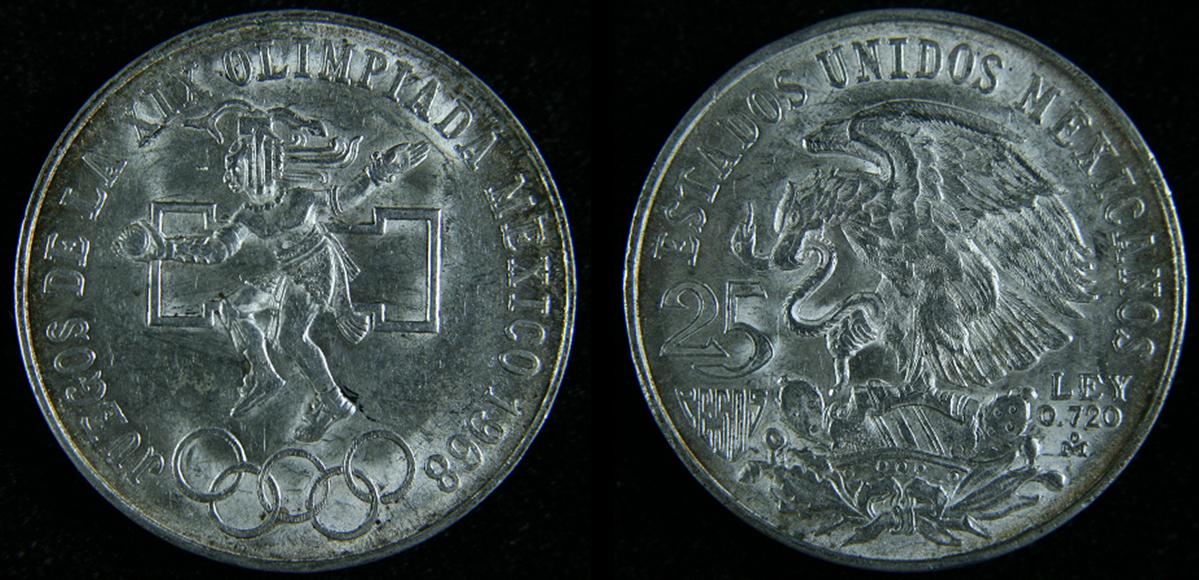 Monedas De Mexico Sabes Por Que Hay Monedas Olimpicas Con Aros