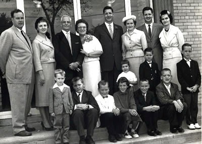 The Beall family, Detroit, Michigan