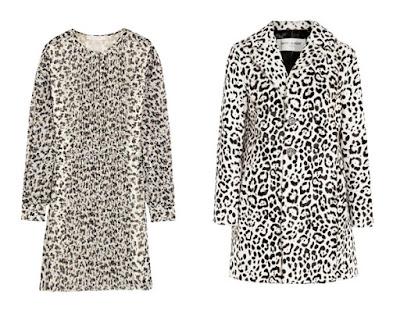Платье и пальто с леопардовым принтом для Светлого цветотипа