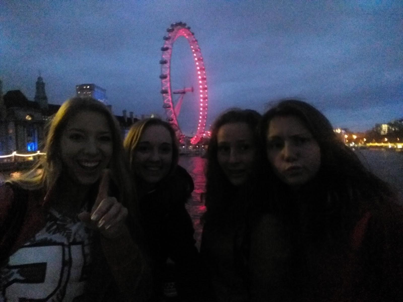 Večer v Londýně