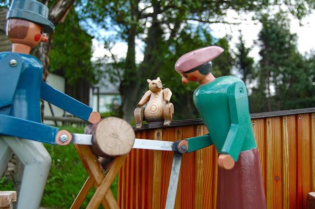 Деревянная игрушка в Зайфене