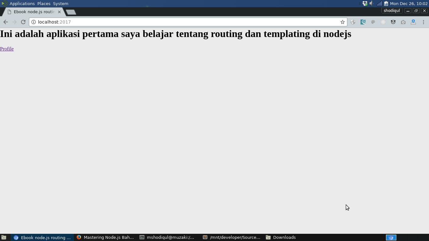 Download Ebook Mastering Nodejs Routing Templating Syntax Blog