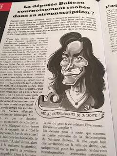 Ce mois-ci dans le Sans-culotte 85, La députée Bulteau ! ©Guillaume Néel