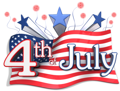 4th of July Clipart 2017