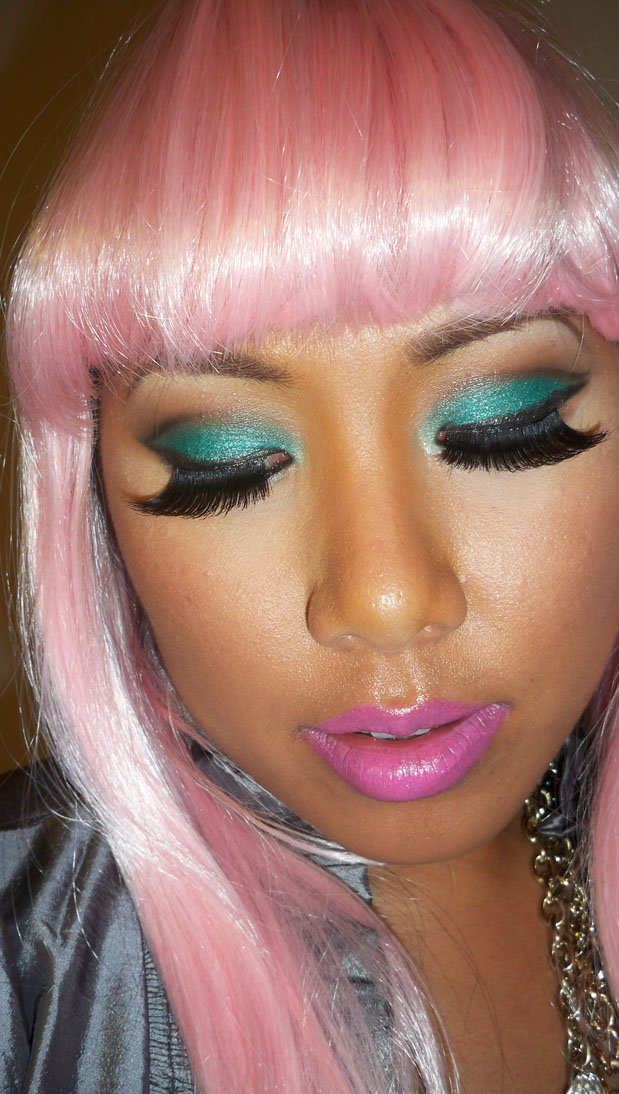 Nicki minaj makeup