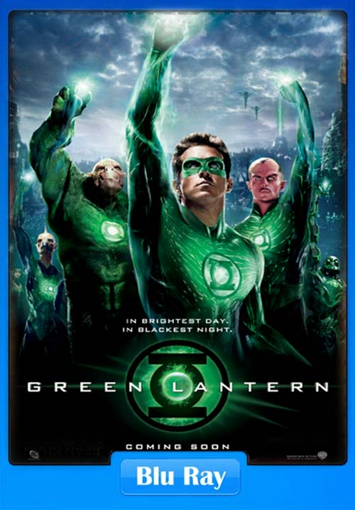 Green Lantern 2011 Dual Audio Hindi 720p BluRay ESubs x264 | 480p 300MB | 100MB HEVC