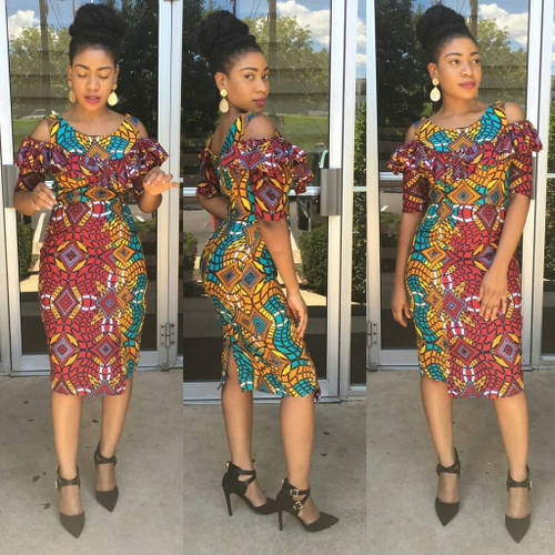 ankara short gown styles for young ladies wedding