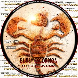 GALLETAThe Scorpion King Book of Souls - El Rey Escorpión 5 [ COVER DVD ]