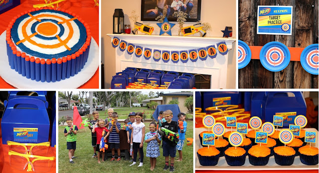 Invite And Delight Nerf Gun Party