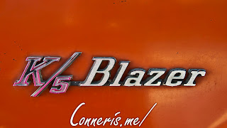 Central and West June 1 2018 Wichita Modified Chevrolet K5 Blazer Badge