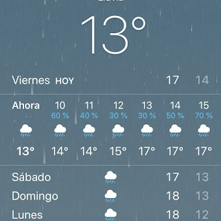 semana santa lluviosa