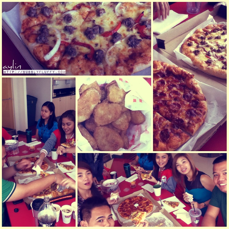 Food of the Day: Shakey's Pizza and Supreme Mojos [Hard work really Pays Off]