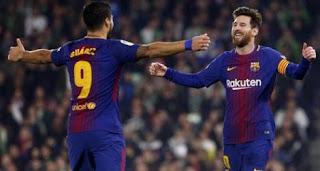 Real Betis vs Barcelona 0-5
