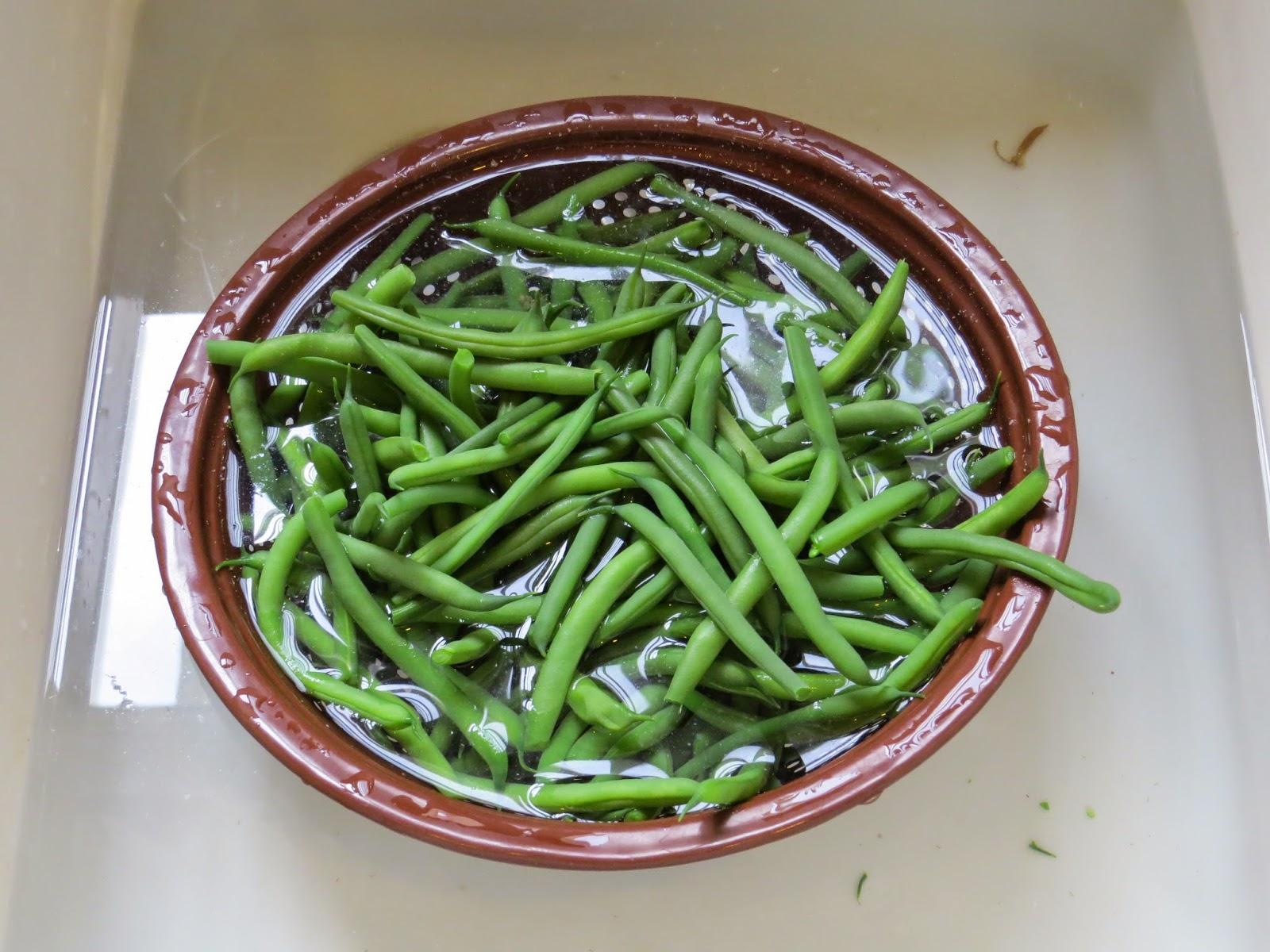freeze beans