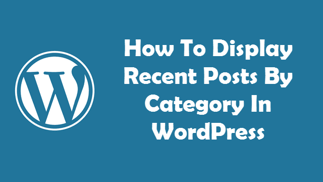 How-to-Display-All-Recent-Post
