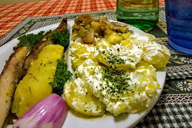 patate e panna acida
