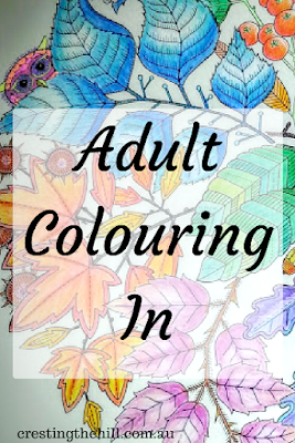 there is nothing quite so relaxing as a little bit of colouring in