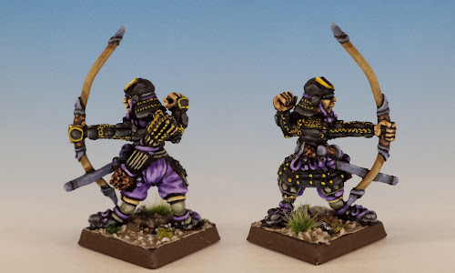 Samurai Archer, OH2 Oriental Heroes, Citadel Miniatures (1986, sculpted by Aly Morrison)