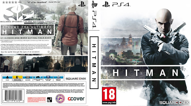 Capa HITMAN PS4 [Exclusiva]