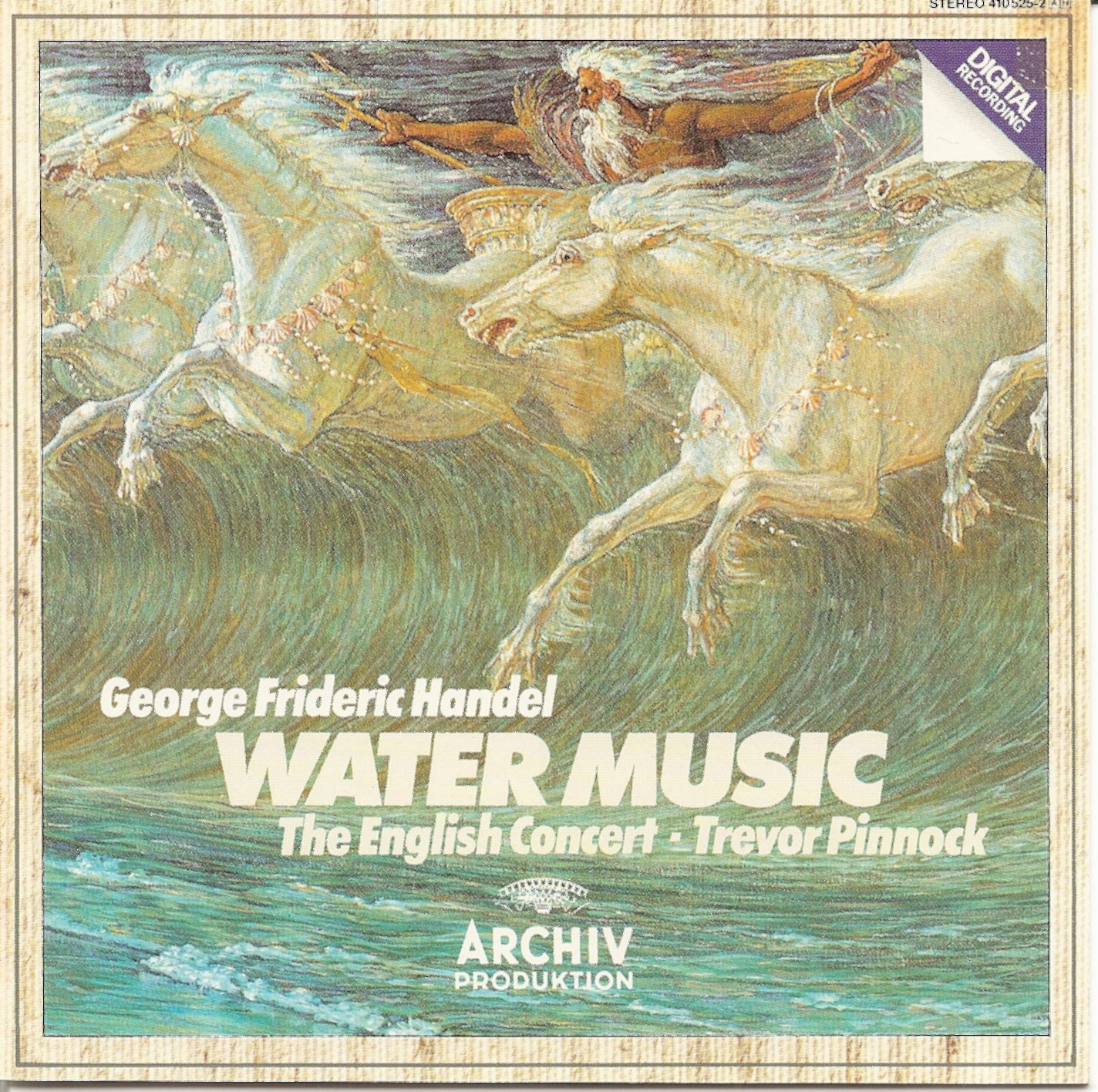 The First Pressing CD Collection: George Frideric Handel ...