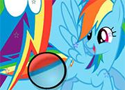 Rainbow Dash estrellas ocultas