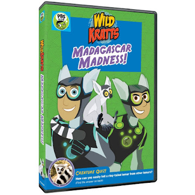 Wild Kratts Madagascar Madness!