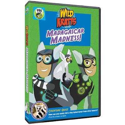 Wild Kratts Madagascar Madness!