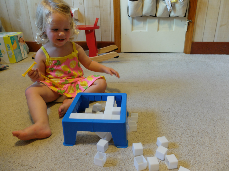 don't break the ice, toddler games
