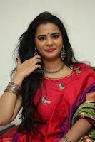 Manasa in Pink Salwar At Fashion Designer Son of Ladies Tailor Press Meet Pics ~  Exclusive 18.JPG