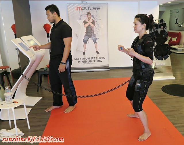 Impulse Studio, EMS Traning Experience, Electric Muscle Stimulation
