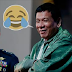 President Duterte Jokes About His Salary, It's Not Enough
