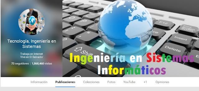 Blogs de Tecnologia, Ingeniería en sistemas