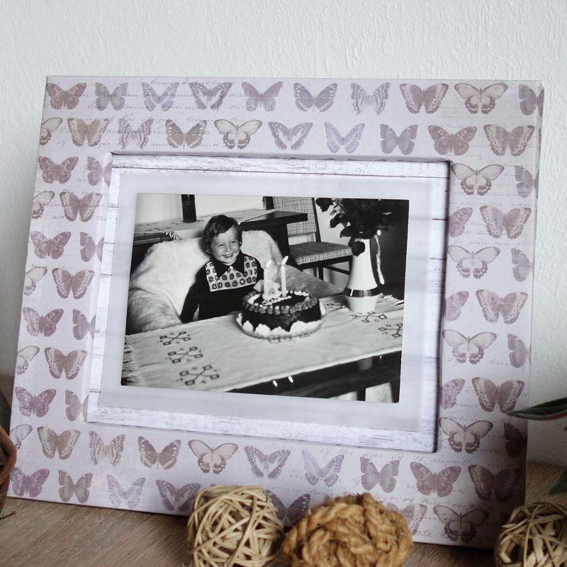 diy challenge bilderrahmen aus pappe basteln foto kreativ in szene setzen perlenkuchen. Black Bedroom Furniture Sets. Home Design Ideas