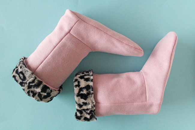 Free Pattern! Make your own snuggly slipper boots - Tilly and the Buttons