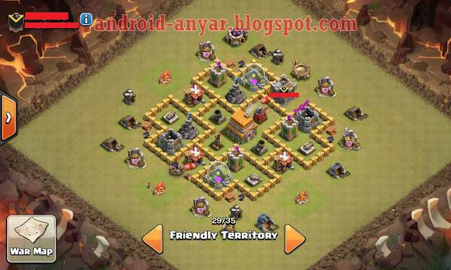 koleksi unik base war th 6 terkuat 2016