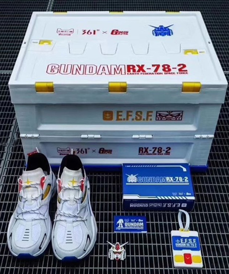 361° Gundam Mobile Suit Sneakers