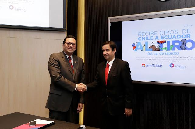 Banco Guayaquil realiza alianza con Banco Estado de Chile
