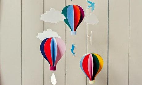 Kerajinan Tangan Membuat Balon Udara Ragam Kerajinan Tangan