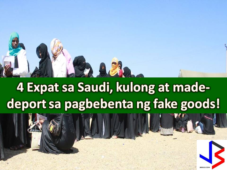 So for Overseas Filipino Workers (OFWs) and Filipinos currently working or staying in Saudi Arabia, it is important that we know the rules and obey to spare ourselves from the fate of this four foreign workers, recently given prison terms and deportation for selling fake detergents to hospitals.  Ministry of Commerce and Investment confirmed the news saying the four expatriate claimed that detergents were genuine products.  The Ministry of Commerce and Investment and the Ministry of Health received a tip and conducted a raid in Sulay district in eastern Riyadh.