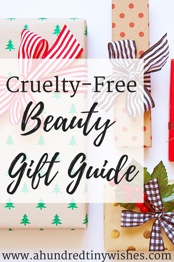 Christmas Gift Guide | 10 Cruelty Free Beauty Products