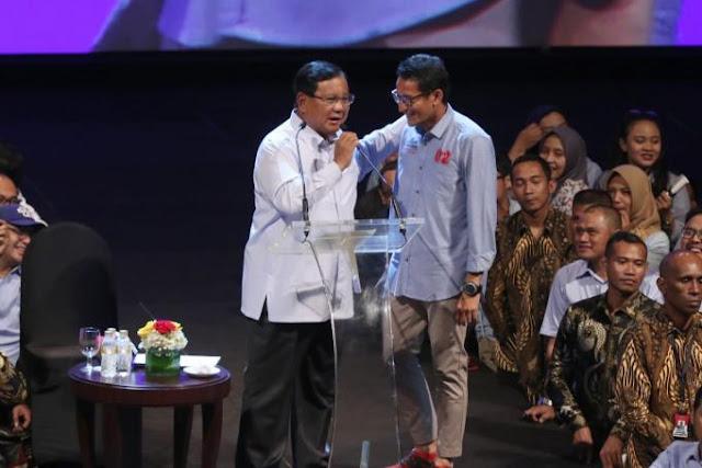 BPN: Pasangan Prabowo-Sandi Gelontorkan Dana Kampanye Sebesar Rp191,5 Miliar
